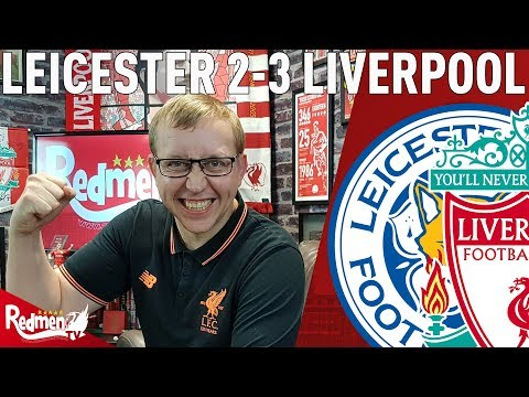 Delight For Liverpool at the King Power! | Leicester v Liverpool 2-3 | Uncensored Match Reaction