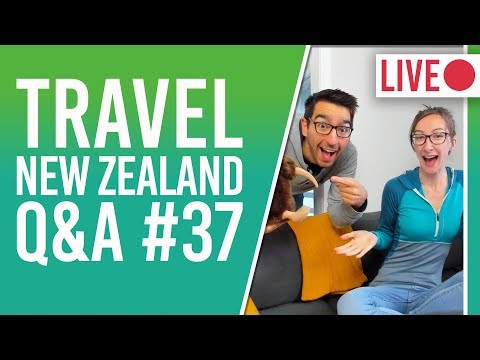 New Zealand Travel Q&A - Auckland Airport To CBD + InterCity Route Map + Car For North Island?