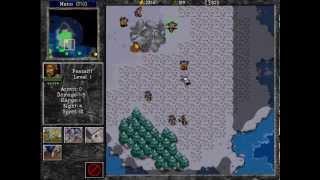 Warcraft II: Tides of Darkness Demo - Playthrough - Human mission 3: ZUL