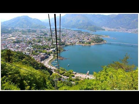 Living in Japan: Mount Fuji & Lake Kawaguchiko Day 1 Part 1 The Kachi Kachi Ropeway