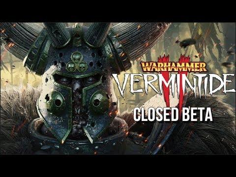 Warhammer: Vermintide 2 - Closed Beta Stream - Uncut! [gameplay 🐄 deutsch]