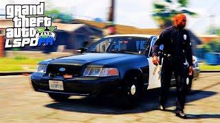 Полицейские Будни в GTA 5 - Первый Патруль!