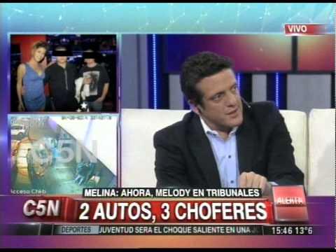 C5N - CASO MELINA ROMERO: MELODY FUE CITADA EN TRIBUNALES