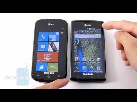 Samsung Focus vs Samsung Captivate