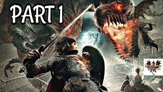Dragon's Dogma Dark Arisen Walkthrough Part 1 - Intro & First Playthrough | PS4 Pro Gameplay