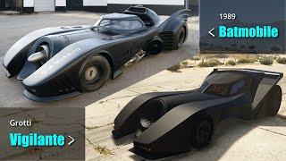 GTA V Vehicles VS All Movies & TV Vehicles | Full Side by Side comparison