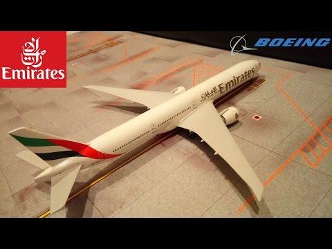 Emirates 777-300ER Skymarks 1:200 Model Review