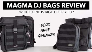 Magma DJ Bags Review - Which one is right for you?