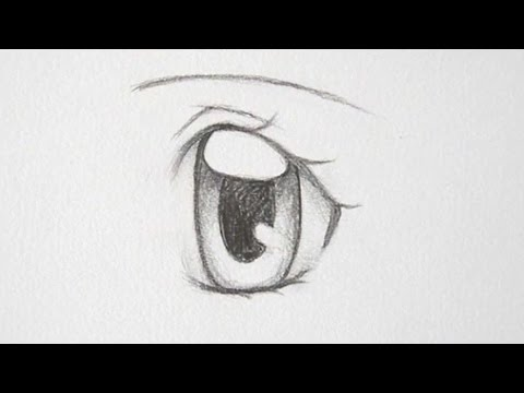 How to draw manga girl eyes 3 ways youtube