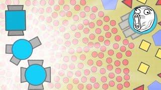 wolrds strongest tank maxed diep io huge update new diep io teams gamemode new tank gameplay