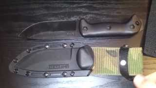 Kabar Becker Bk2 Campanion Knife Sheath Mod / $5 Fix