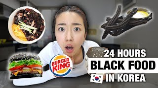 Download 24 JAM MAKAN BLACK FOOD DI KOREA !
