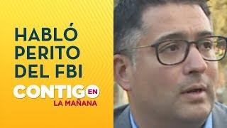 Perito del FBI reveló detalles inéditos del caso de Fernanda Maciel - Contigo en La Mañana