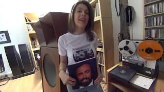 Knyazev K-1 Speakers & Luciano Pavarotti - Hemiolia Records Master Tape