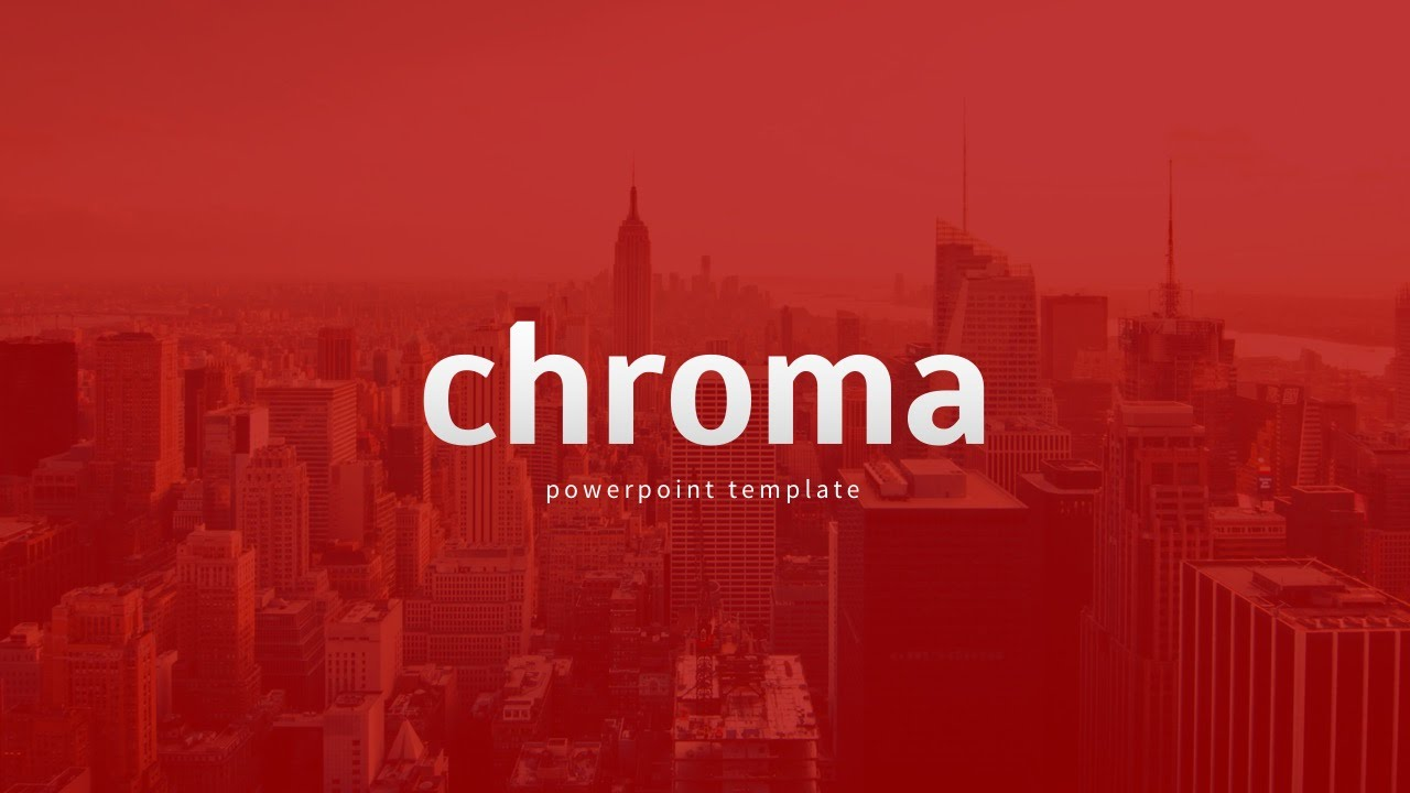 Chroma powerpoint template youtube toneelgroepblik Images