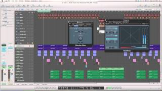 Logic Pro 9 Tutorial: How to get your Bass Sounding Big, Wide, and Clean