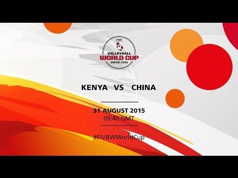 Kenya v China - FIVB Volleyball Women's World Cup Japan 2015