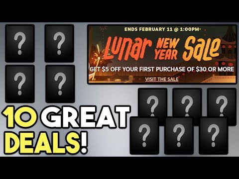 STEAM LUNAR NEW YEAR SALE 2019 - 10 GREAT DEALS! Mp3