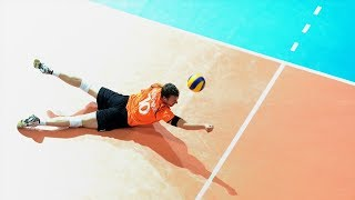 TOP 50 Best Unbeliveble Saves ( Digs) World League 2017 | The Best Libero In The World