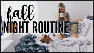 fall night routine   kalyn nicholson