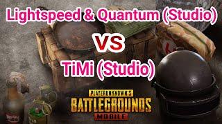 PUBG MOBILE - Lightspeed & Quantum Studio (India) VS TiMi Studio (China) Comparison