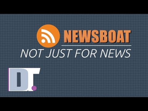 Newsboat RSS Reader - Not Just For News Feeds
