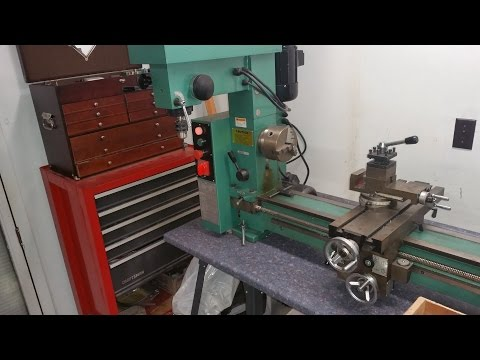Grizzly G9729, Mill / lathe / Drill with tooling, potential purchase
