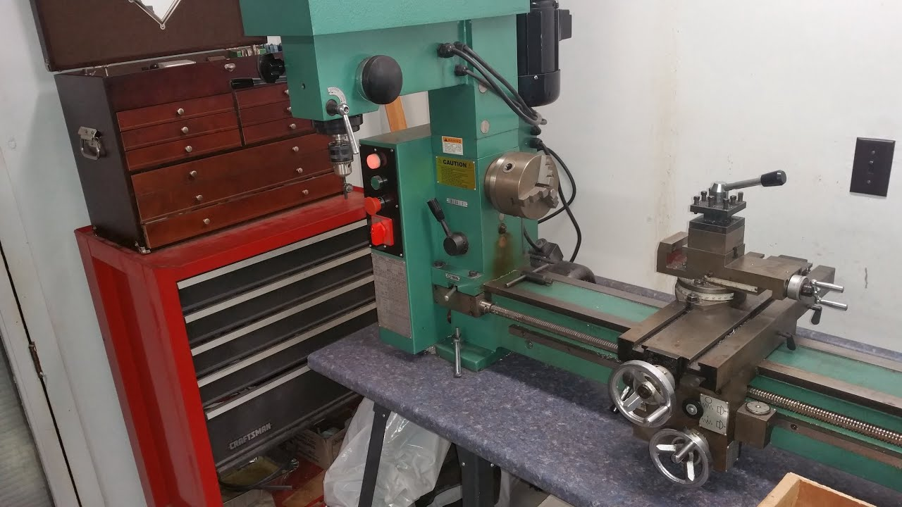 Grizzly G9729 Mill Lathe Drill With Tooling Potential Purchase You