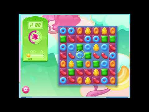 Candy Crush Jelly Level 1, Audio Talkthrough, 0 Boosters