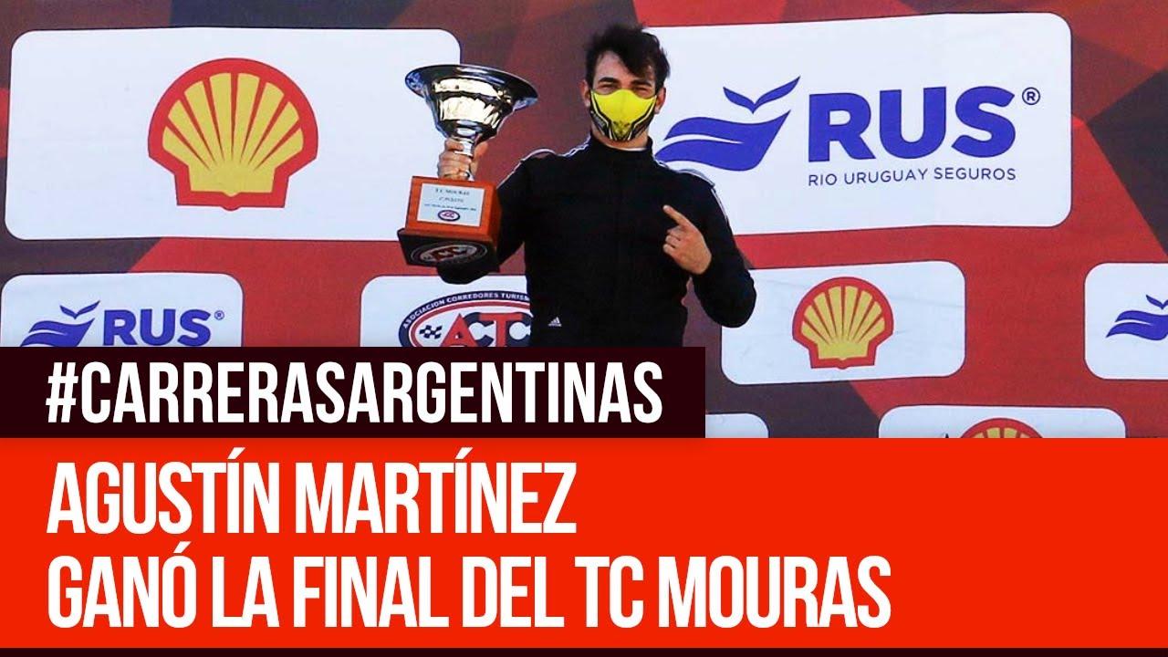 TC Mouras: Agustín Martínez se quedo con la final de la fecha 03 - Carreras Argentinas