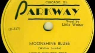 Parkway 502 - Little Walter Trio - Moonshine Blues