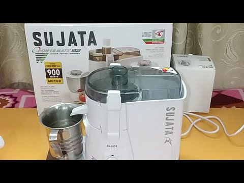 Live making of Carrot Juice in Sujata Powermatic Plus 900W Juicer (Hindi) (Live Video)