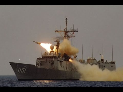 Hsiung Feng III anti ship missile test Taiwan RoC Navy