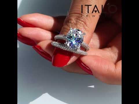 italo-jewelry-classic-oval-created-white-sapphire-wedding-rings-set--221111