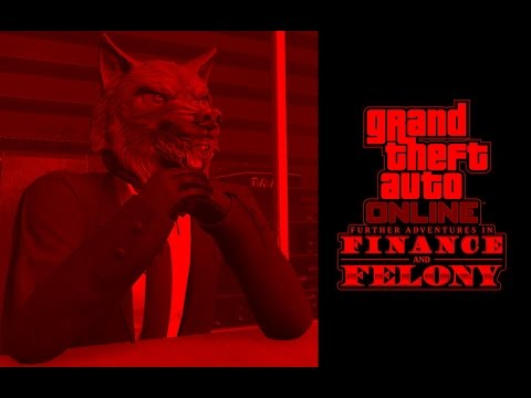 GTA 5 Online - Finance & Felony DLC - Starting my BSAA organization #1