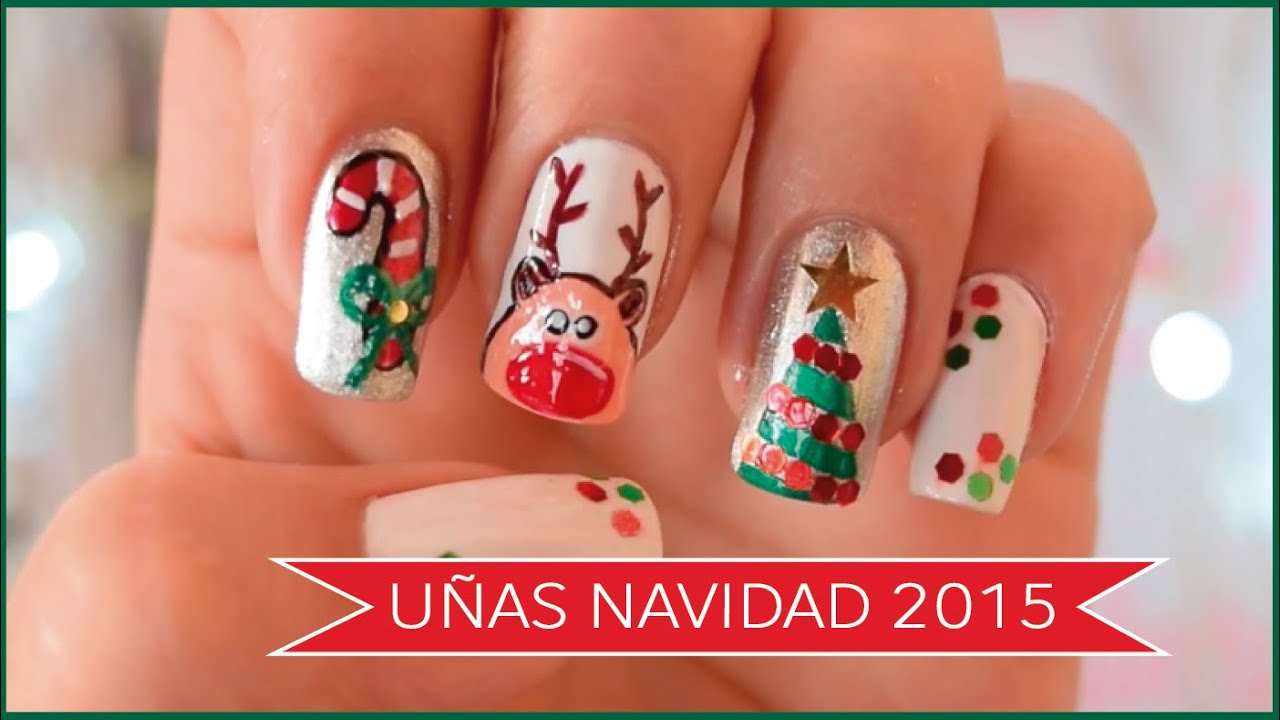 C mo decorar mis u as para navidad 2016 1 naila for Imagenes de estanques decorados