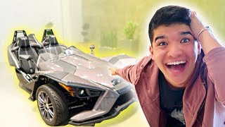 SHE SURPRISED ME WITH A NEW CAR!!