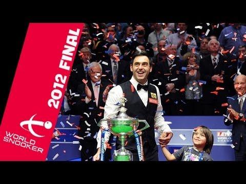 Ronnie O'Sullivan v Ali Carter 2012 World Championship