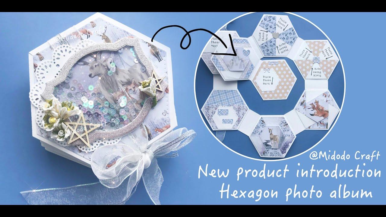 2020  Midodo September New Arrival Hexagon Album Interactive Dies Sharing (aliexpress Haul)