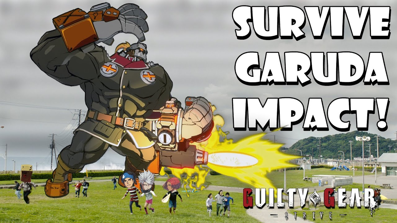 Surviving against Potemkin's Garuda Impact, Know your options! - Guilty Gear Strive