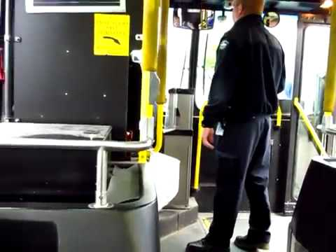 Daniel J Towsey YELLS at a Halifax Transit bus driver to let him off PART 1 OF 3