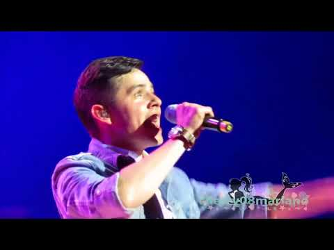 TOUCH MY HAND - David Archuleta live in Manila [HD]