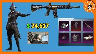 تفتيح صناديق الجندي المشوك بقيمة 24,617$ 😍 و توزيع شدات للمشاهدين🎁 PUBG MOBILE