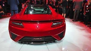 2016 Acura NSX - 2015 Detroit Auto Show