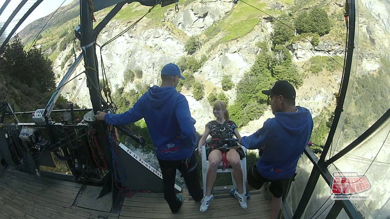 Canyon Swing New Zealand Queenstown South Island Chair Of Death