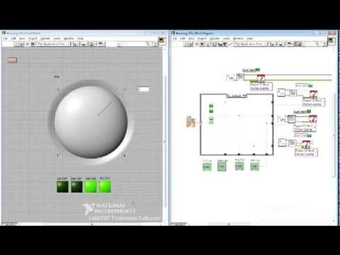 Stepper Motor Program With A National Instruments Labview