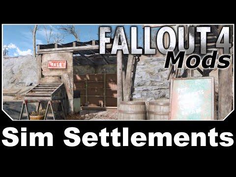 Fallout 4 Mods - Sim Settlements