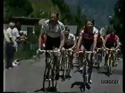 Tour 1990 11^ Saint-Gervais - L'Alpe d'Huez [G.Bugno/G.LeMond/E.Breukink]