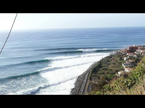 Surfing in Madeira Live to Ride 2018