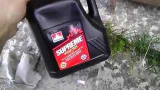 Прожарка масла Petro-Canada Supreme 5w-30